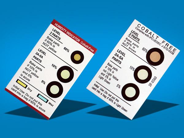 Humidity Indicator card(3 circle)