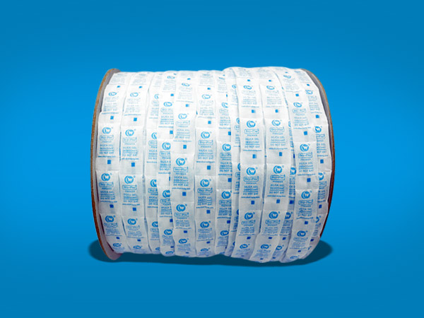 pharmaceutical desiccant  roll pack
