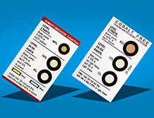Humidity Indicator card(3 circle)