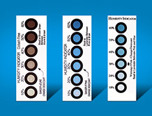 Humidity Indicator card(6 circle)