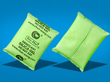 Non-woven packaging silica gel desiccant